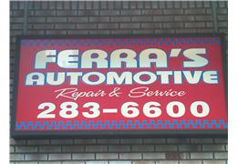 Welcome to Ferras Automotive