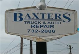Welcome to Baxter's Auto Repair